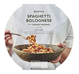 Booths Spaghetti Bolognese with Grana Padano, 400 g