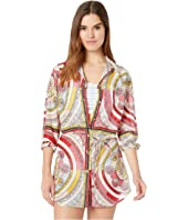 Tory Burch Swimwear - Brigitte Printed Beach Tunic Cover-Up