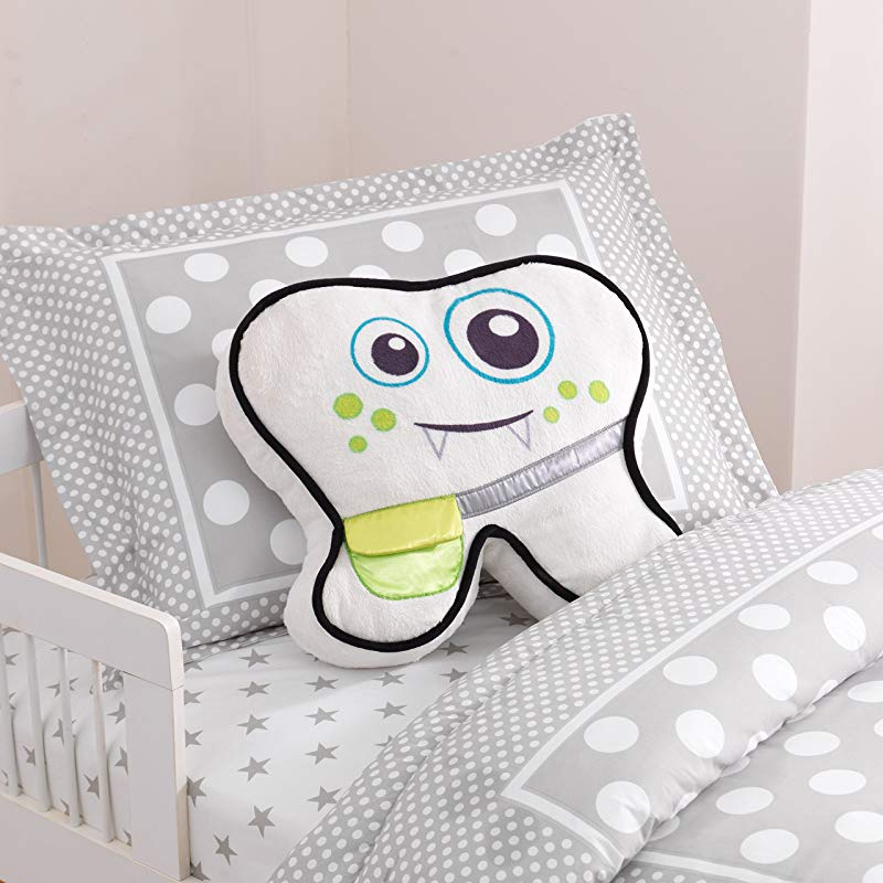 KidKraft Lil Monster Tooth Fairy Pillow