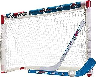 Inglasco Seattle Kraken Knee Hockey Set Mini Stick Foam Balls