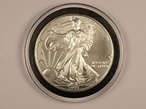 1997 Unc. American Silver Eagle 1 Oz Of Fine Silver (Low Mintage Year)