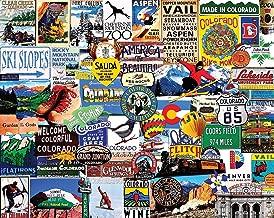 White Mountain Puzzles I Love Colorado - 1000 Piece Jigsaw Puzzle
