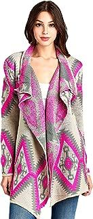 RENEEC. Women's Open Front Long Sleeve Warm Knit Chunky Cardigan Sweater