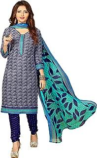Minu salwar Cotton Printed Suit sets Blue(Indigofashion2_2004)