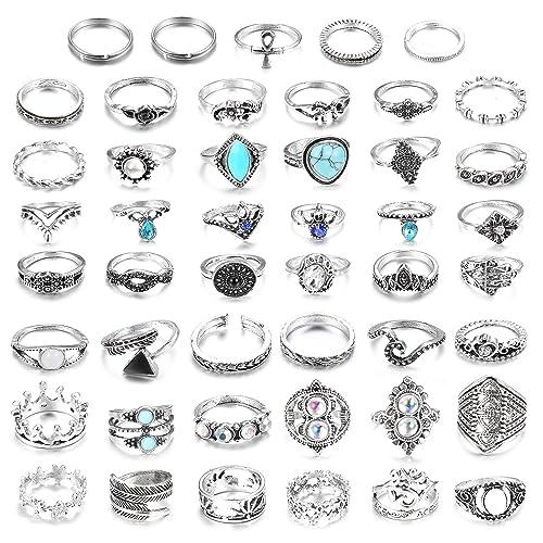 Love Heart Pretty Midi Toe Knuckle Nail Ring Gem Diamante Adjustable Silver A1