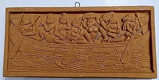 Mukherjee Handicraft's Terracotta Wall Hanging Showpiece for Home Décor Art.