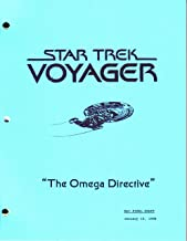 Star Trek Voyager script - The Omega Directive