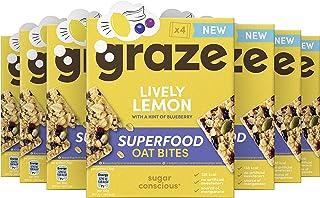 Graze Lively Lemon Superfood Oat Bites Havermoutrepen - 7 x 4 repen (120 g)