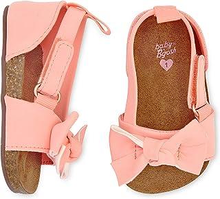 OshKosh B'Gosh Girls Bow Strap Sandals Crib Shoe