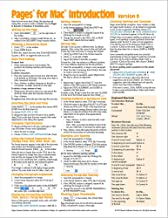 Pages for Mac Quick Reference Guide, version 8 Introduction (Cheat Sheet of Instructions, Tips & Shortcuts - Laminated Card)