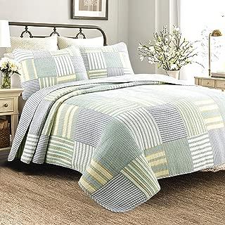 Best green striped bedspread Reviews