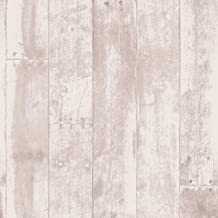 Tempaper Shabby Cedar Repurposed Wood | Designer Removable Peel and Stick Wallpaper