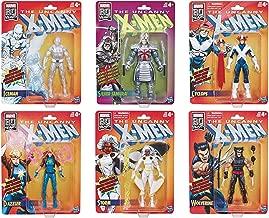 X Men The Uncanny Marvel Legends Retro Collection Wave 3 Set of 6 Figures