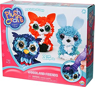 The Orb Factory PlushCraft Woodland Friends (Multi Color)