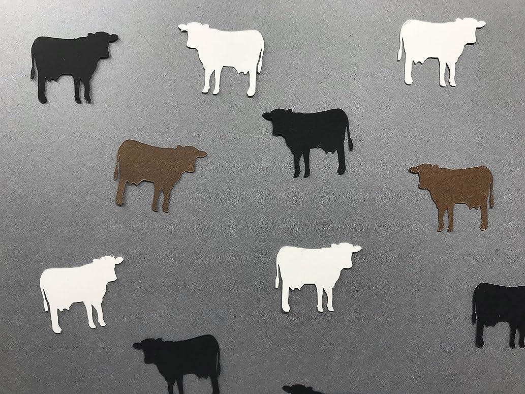 Cow Confetti - Cow Party Decorations - Farm Animal Confetti - Farm Animal Decorations - Farm Birthday Party Decorations - Farm Baby Shower - 200 pieces