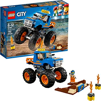 LEGO Juego de Construcción City Great Vehicles Camioneta Monstruo (60180)