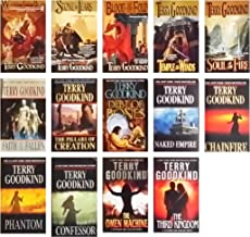 Terry Goodkind Sword of Truth Series 14 Book Set