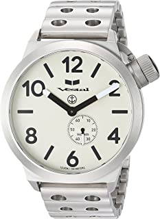 ساعة فيستل للجنسين CNT453M05.DSVM كانتين معدنية انالوج بعقارب كوارتز فضي