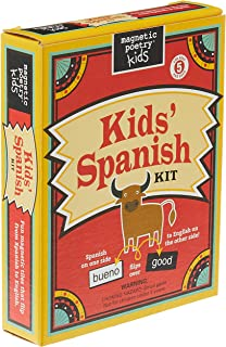 Magnetic Poetry Spanish Kit for Kids
