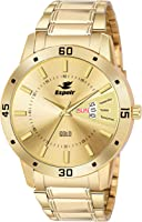 Espoir Analog Gold Dial Men's Watch-ESP12459