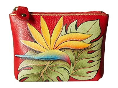 Anuschka Handbags Coin Pouch 1031 (Island Escape) Handbags