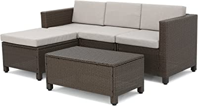Amazon.com : Breakwater Bay 6 Piece Sectional Set with ...