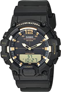 Casio Men's Classic Quartz Watch with Resin Strap, Black, 24 (Model: HDC-700-9AVCF)