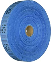 2000 Blue Smile Single Roll Consecutively Numbered Raffle Tickets