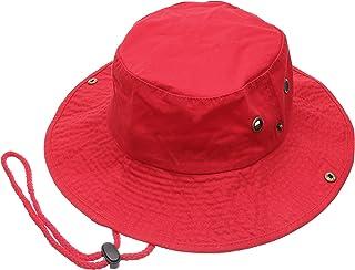 e8336e5bbfd MIRMARU Summer Outdoor Boonie Hunting Fishing Safari Bucket Sun Hat  Adjustable Strap