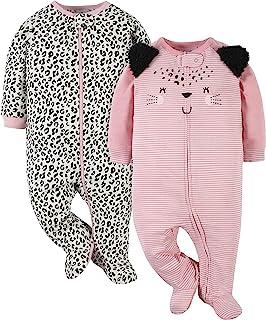Gerber Baby-Girls' 2-Pack Sleep 'N Play