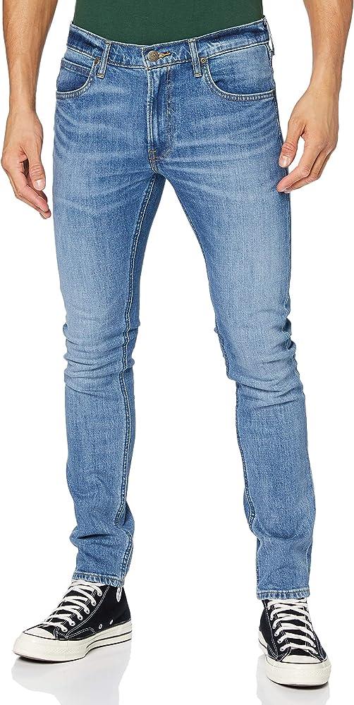 Lee luke, jeans per uomo,94% cotone, 5% poliestere, 1% elastan L719PLRJ