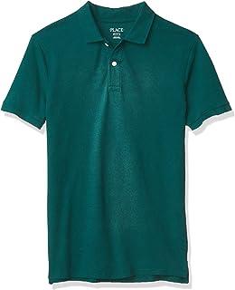 The Children's Place Boys' Uniform Pique Polo
