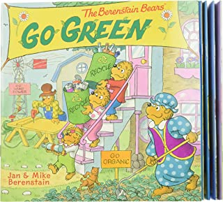 The Berenstain Bears Take-Along Storybook Set: Dinosaur Dig, Go Green, When I Grow Up, Under the Sea, The Tooth Fairy