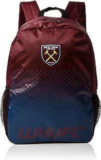 West Ham United FC Fade Design Soccer Crest Backpack