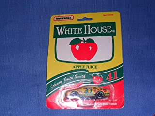 1992 NASCAR Matchbox . . . Johnny Smith #41 White House Apple Juice 1/64 Diecast