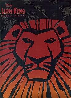 The Lion King Broadway Musical Souvenir Brochure: This Way a Lion Comes