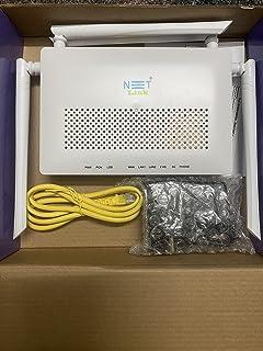 NETLINK GPON ONT 2GE+1POTS+ac WiFi (HG323DAC) 4Antenna Dual Band