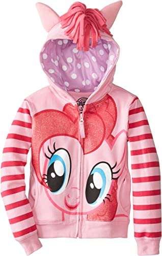 My Little Pony Little Girls Zip-up Hoodie