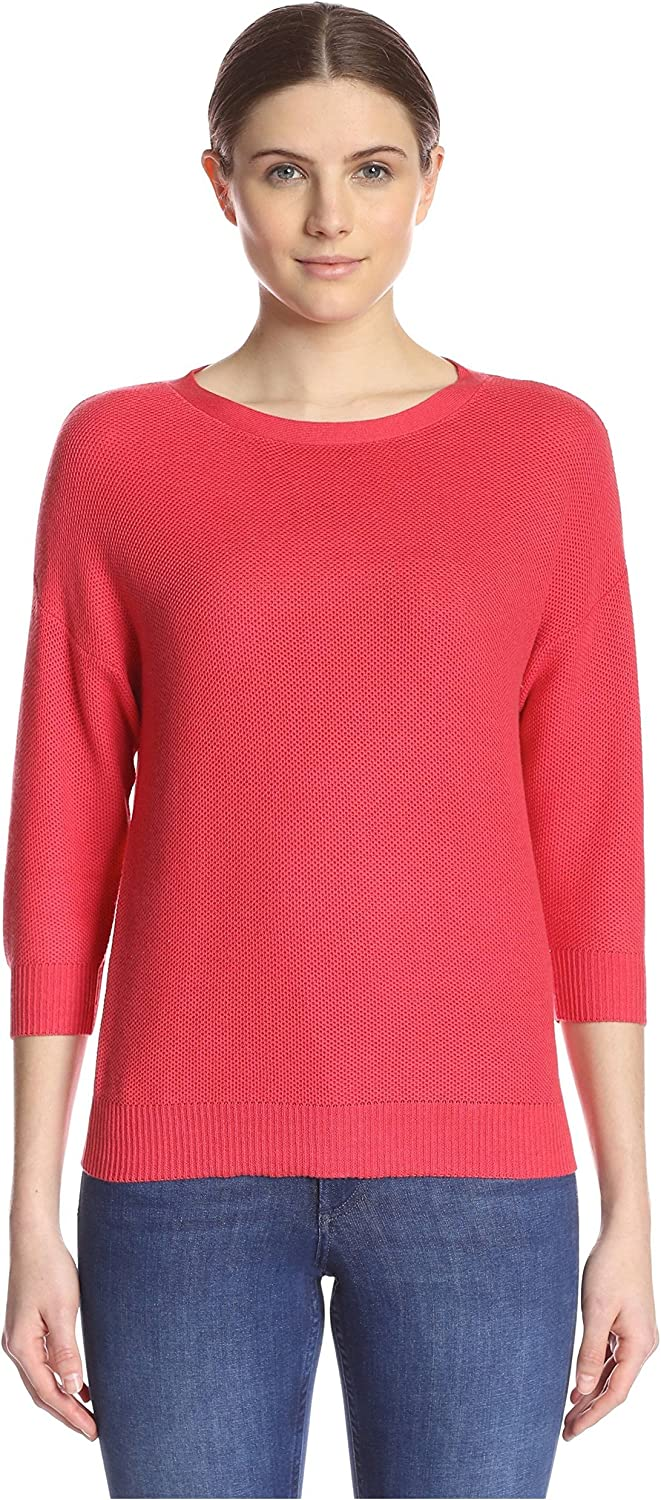 Kier & J Women's Pique Knit Sweater