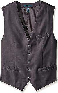 Men's Big-Tall Solid Suit Vest