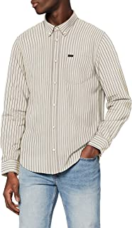 Lee Button Down Chemise Casual Homme