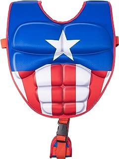 SwimWays Scultped Captain America Swim Vest, Medium/Large