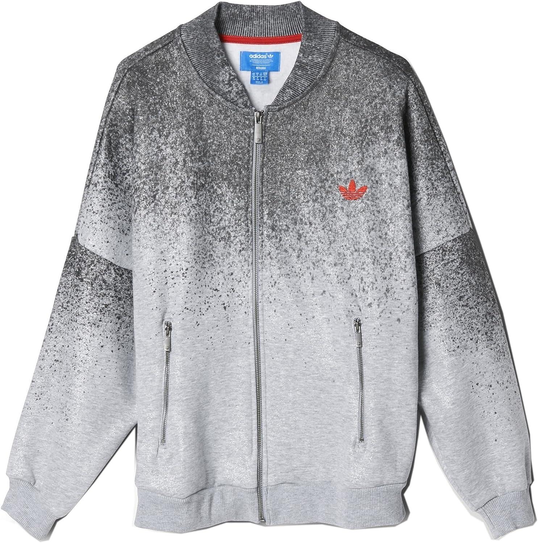 Adidas Damen Trainingsjacke Grau grau
