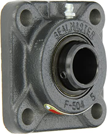 Cast Iron Housing 4 Bolt Regreasable Felt Seals 5-1//4 Overall Length 3-3//32 Bolt Hole Spacing Width Skwezloc Collar Sealmaster SFC-24T Standard Duty Piloted Flange Cartridge Unit 1-1//2 Bore 7//16 Flange Height