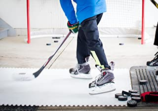 Skate Anytime - Synthetic Ice for Hockey - Skateable Artificial Ice Tiles - Backyard Ice Rink - Starter Kit