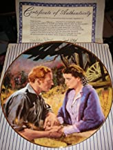 Collector Plate - Gone with the Wind - Golden Anniversary Series Plate #3 - Scarlett & Ashley After The War