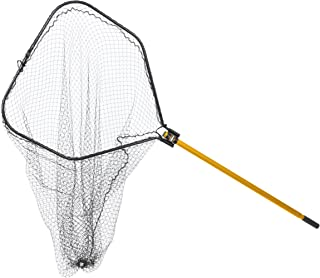 Frabill 8527 Power Stow Net with 48-Inch Telescoping Handle, 36 x 38-Inch, Premium Landing Net