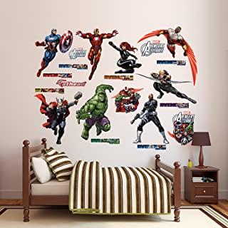FATHEAD Marvel's Avengers Assemble: Collection-X-Large Officially Licensed Removable Wall Decal