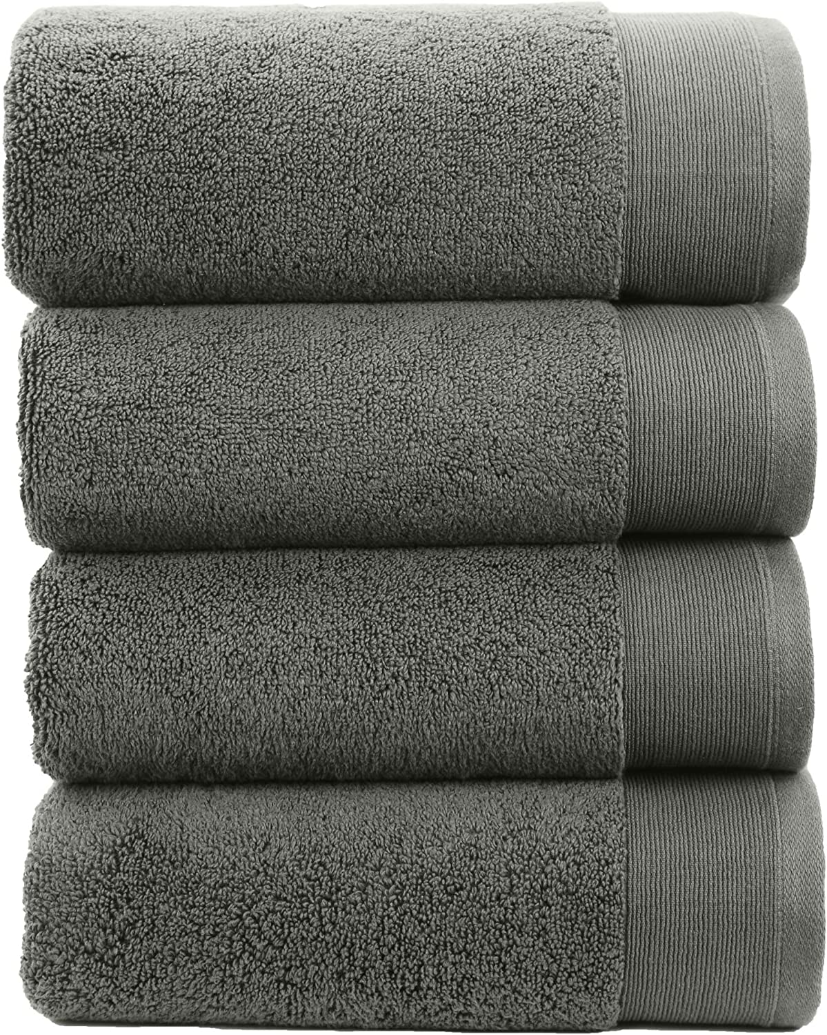 Shower Towel Set for Hair /& Body Ivory -69 x 138 cm Extra Soft /& Fluffy Quick Dry /& Highly Absorbent Pack of 4 Hotel Quality 100/% Cotton Luxury Bath Towels Like a Spa Retreat Everyday No Lint