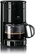 Braun KF 47/1 Koffiezetapparaat voor Klassieke Filterkoffie, Aromatische Koffie Dankzij Optibrew-Systeem, Druppelstop, Aut...
